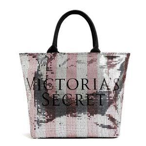 Victoria's Secret Sequin Weekend Tote Bag